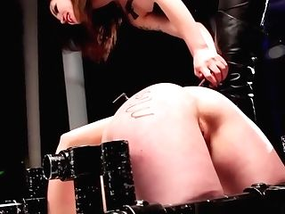Lezzie Domination Domination & Submission Being Penalized With Electrosex