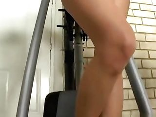 Fit Lesbo Gym Mates Get Horny With Each Other