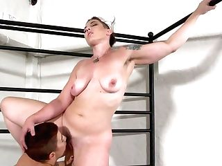 Alternative Lesbo Whore Mistress Kara Uses Belt Dick To Fuck Humid Twat