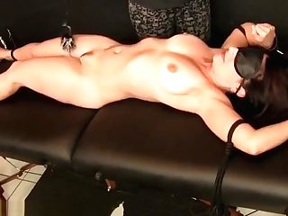 Is Tied Up Kittled And Stimulated With Jordan A And Jordana Leigh