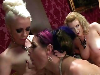 Rich Honeys Tying Up Shemale And Having Hookup - Lorelei Lee And Cherry Ripped