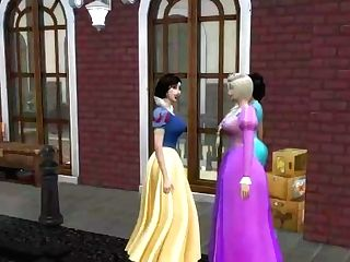 'disney Princess Gone Wild - Degustating The Jizz On Her Thumbs (sims Four - Roleplay) - 7deadlysims'