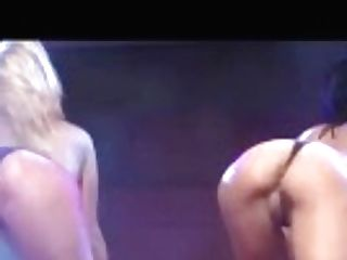 """""""hot All Girl Fake Penis Showcase On Stage"""""""