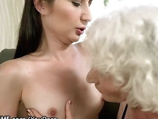 21sextreme Teenage Is Muff-diving Granny's Box