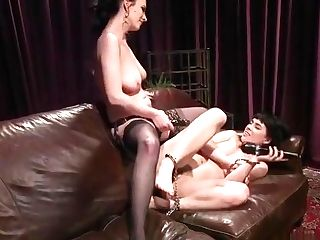 Tied Up Honey Rimming Her Mistress