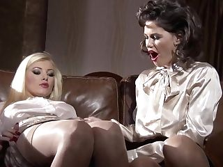 Incredible Porn Industry Stars Dona Bell And Chintya Doll In Crazy Blonde, Getting Off Adult Movie