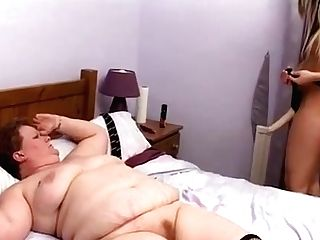 Matures Bbw Belt Cock Fucked By Youthfull Tart