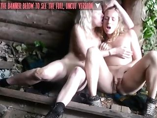 First-timer Lesbo Fuckfest Venture In The Park