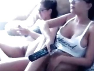Friends Masturbate Together