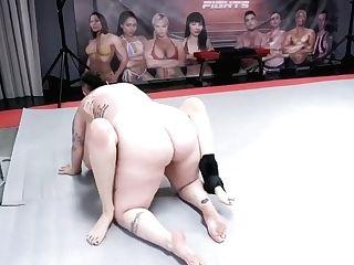 Girly-girl Cat Fight Belt Cock Lovemaking Vs Nikki Seq - Kyra Rose