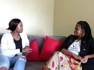 'petite Black Girl/girl Friends Fake Penis Fucking'
