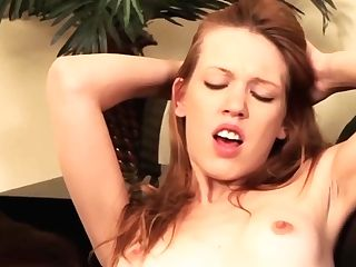 Skinny Teenage Learning About Lezzy Fuck-a-thon